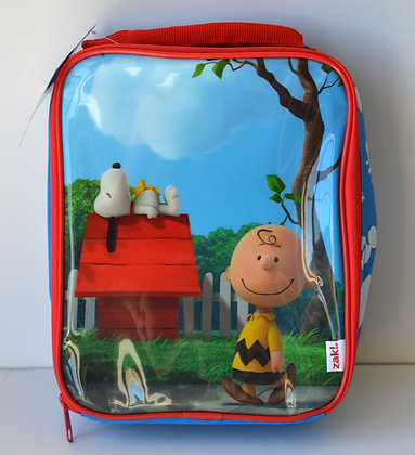 Snoopy & Charlie Brown Insulated Lunch Bag