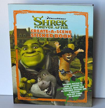 Shrek Forever After Sticker Book