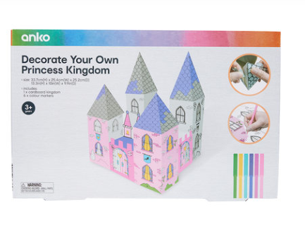 Decorate Your Own Princess Kingdom