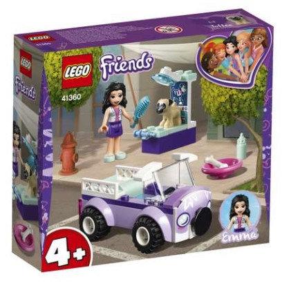 Lego Friends - Emma's Mobile Vet Clinic