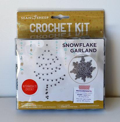 Snowflake Garland Crochet