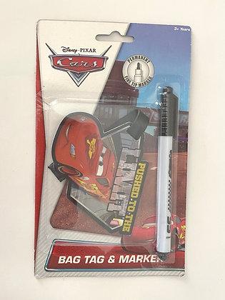 Cars Bag Tag & Marker