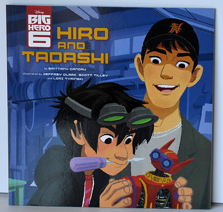 Big Hero 6: Hiro & Tadashi
