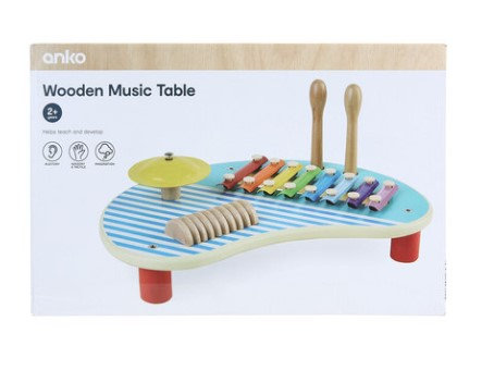 Wooden Music Table