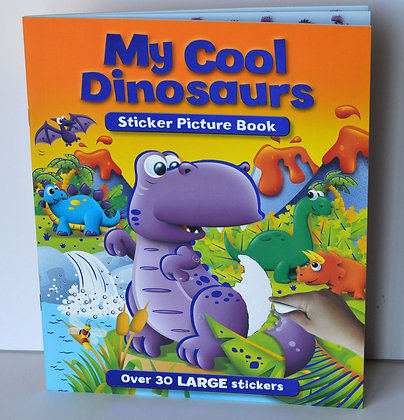 My Cool Dinosaurs Sticker Book