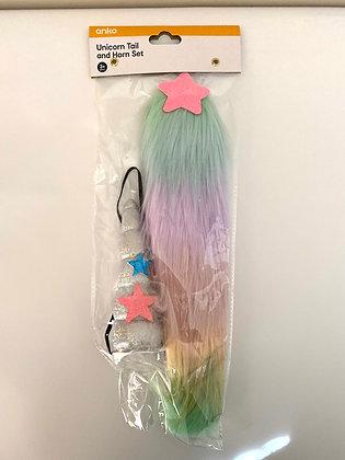 Unicorn Tail & Horn Set