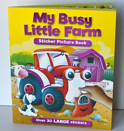 My Busy Little Farm Sticker Book