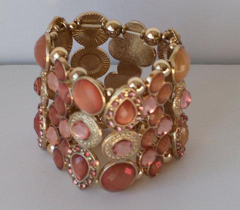 Oversized Mosaic Bracelet