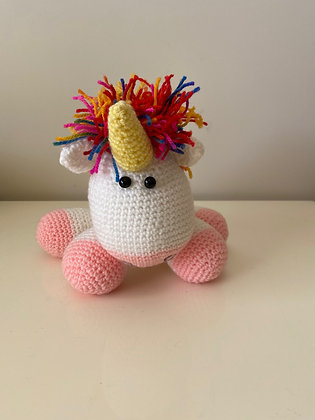 Hand Knitted Unicorn