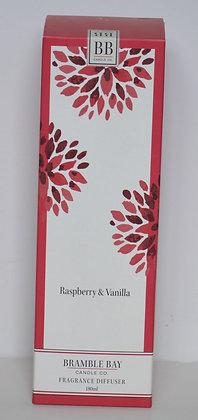 Raspberry & Vanilla Fragrance Diffuser