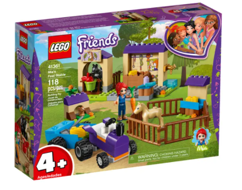 Lego Friends - Mia's Foal Stable