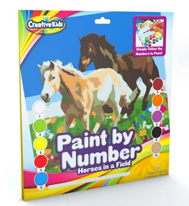 Paint by Numbers - Horses