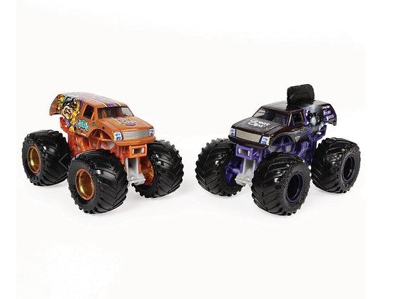 Monster Jam Metal Trucks