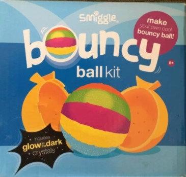 Smiggle Bouncy Ball Kit