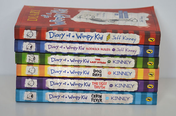 Diary of a Wimpy Kid: Books 1-6