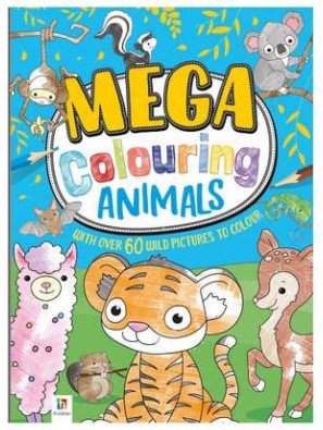 Mega Colouring - Animals