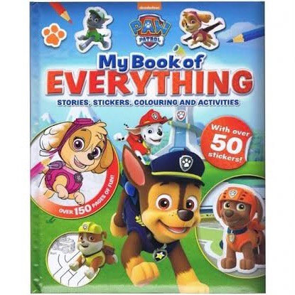 Paw Patrol: My Book of Everything