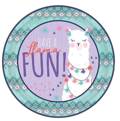 Birthday Theme - Llama Fun