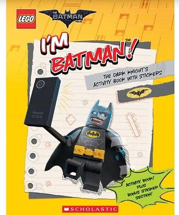 I'm Batman Activity Book