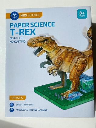 Paper Science T-Rex