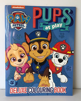 Paw Patrol Colouring Book