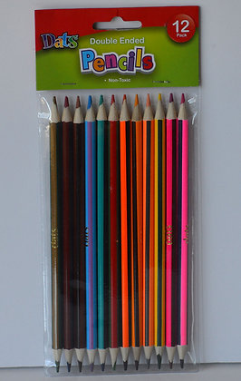 Double Ended Colouring Pencils