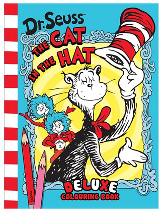 Cat in the Hat Colouring Book