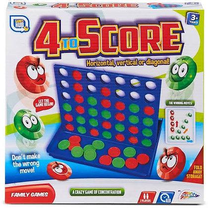 4 to Score