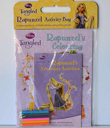 Rapunzel Activity Bag
