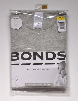 Bonds Grey Coverall