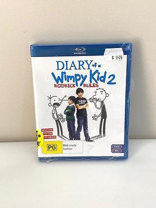 Diary of a Whimpy Kid 2 Rodrick Rules - Bluray Disc