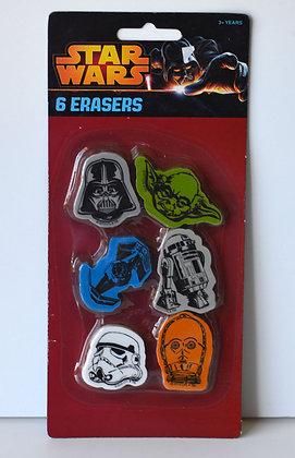 Star Wars Erasers