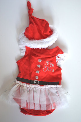 Miss Claus Baby Costume