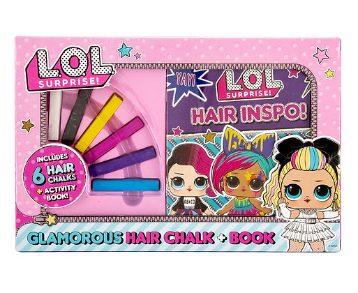 L.O.L. Surprise Hair Chalk & Book