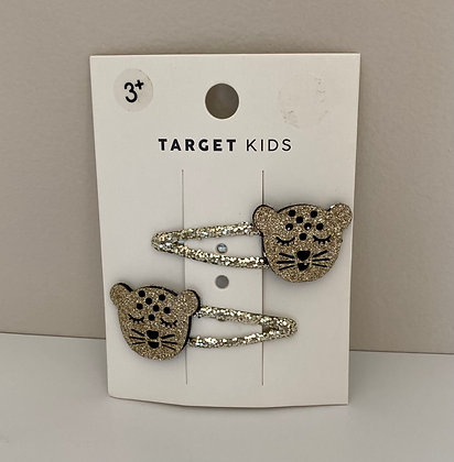 Cute Leopard Hair Clips