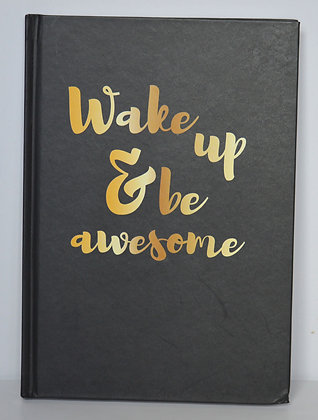 Be Awesome A5 Notebook