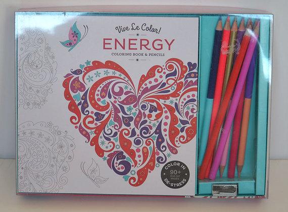 Energy Colouring Book & Pencils