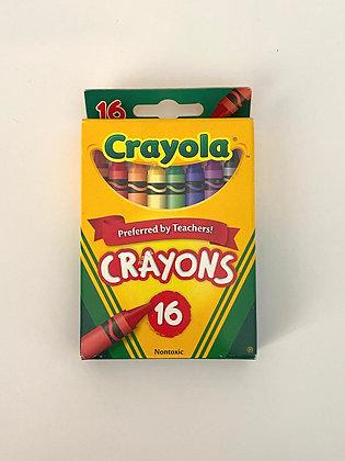 16 Pack Crayola Crayons