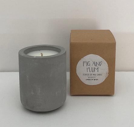 Fig & Plum Candle