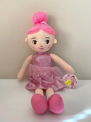 Ballerina Plush Doll