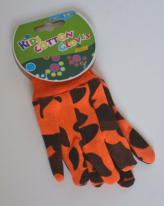 Kids Cotton Gardening Gloves