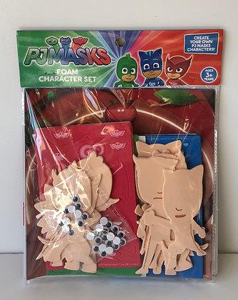 PJ Masks: Foam Character Set