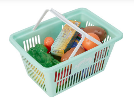 Basket with Play Food