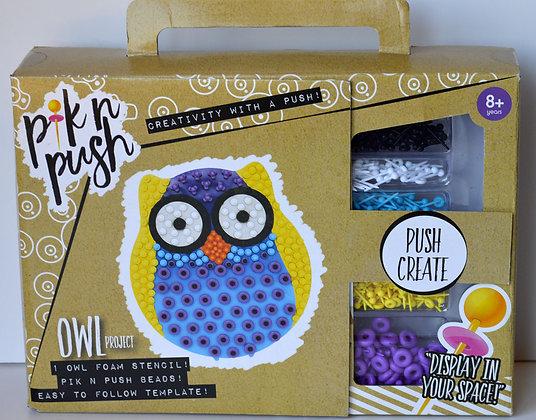 Pik n Push - Owl