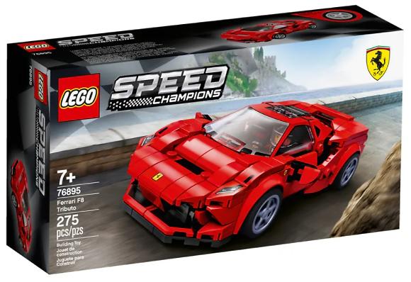 Lego Speed Champions - Ferrari F8 Tributo