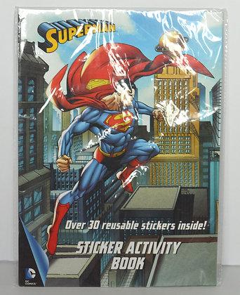 Superman Sticker Activity Book