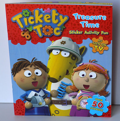 Tickety Toc Treasure Time Activity Book