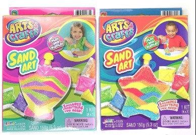 Sand Art -Star