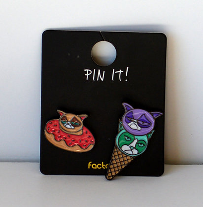 Grumpy Cat Pins