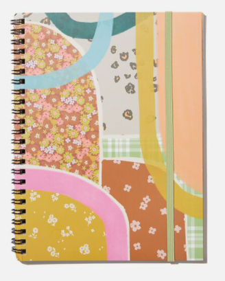Typo A5 Notebook - Abstract